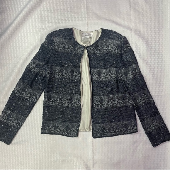 Adrianna Papell Evening Beaded Jacket